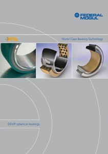 Spherical Bearings Catalogue Title Page